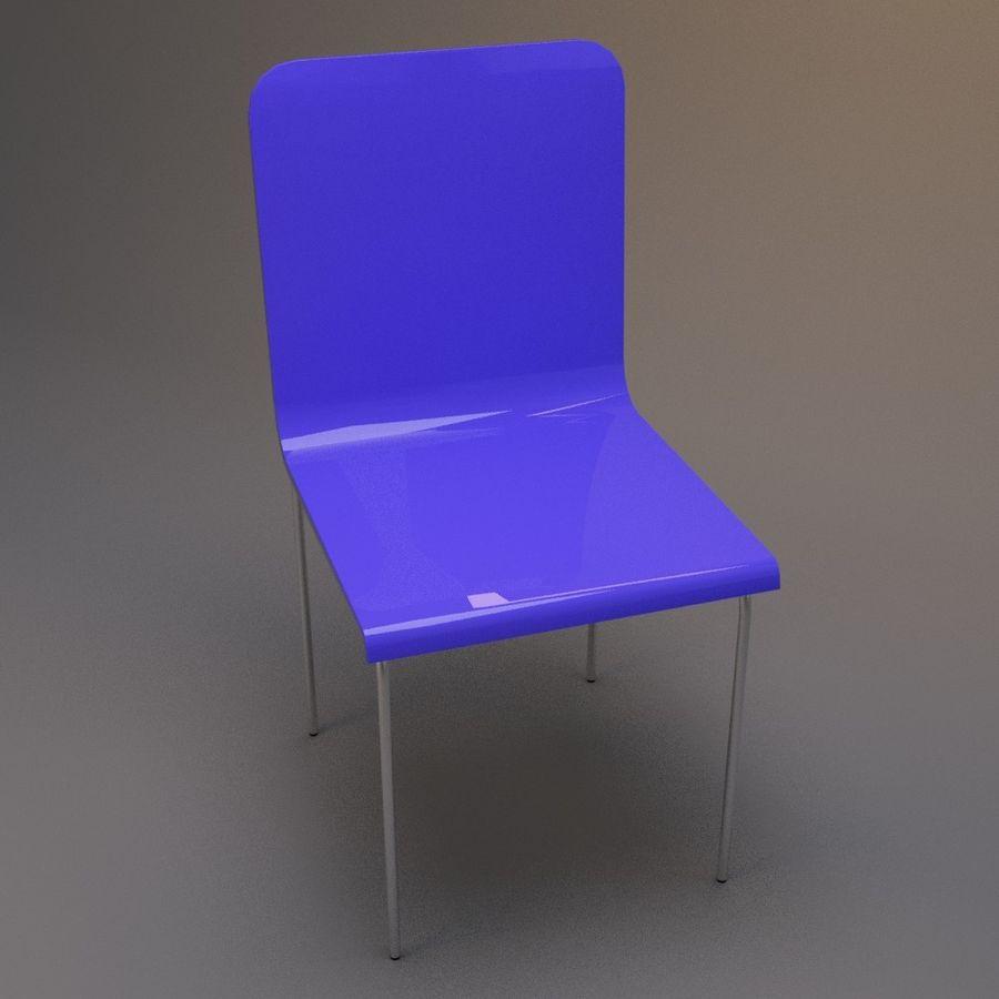 椅子2 royalty-free 3d model - Preview no. 3