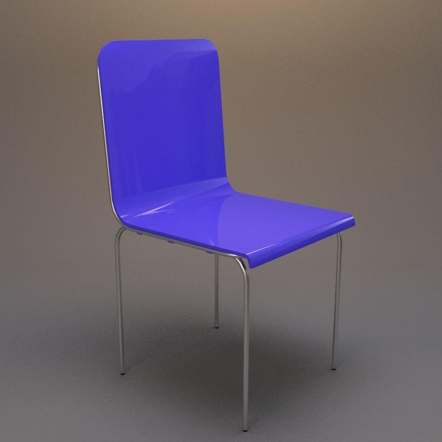 椅子2 royalty-free 3d model - Preview no. 1