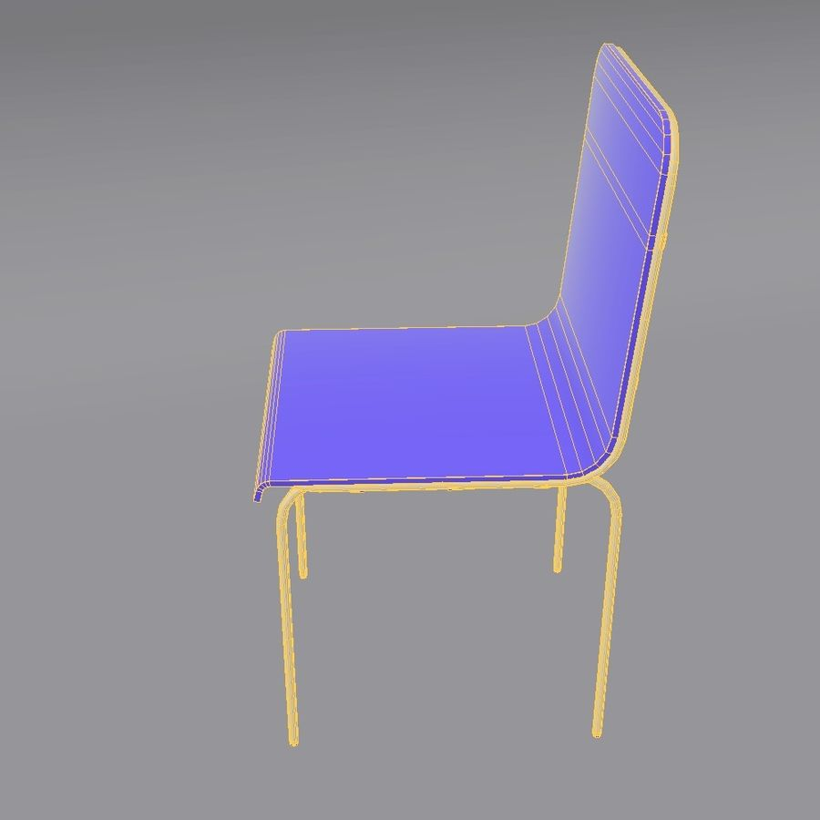 椅子2 royalty-free 3d model - Preview no. 13