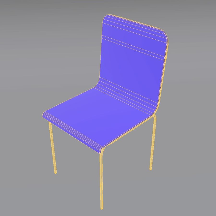 椅子2 royalty-free 3d model - Preview no. 14
