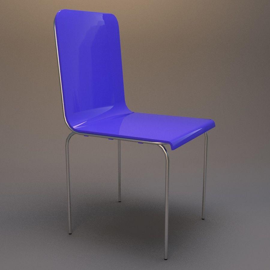 椅子2 royalty-free 3d model - Preview no. 4