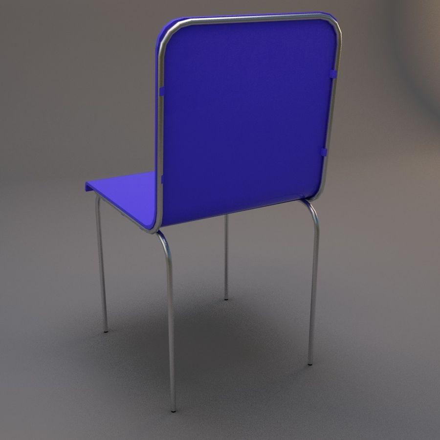 椅子2 royalty-free 3d model - Preview no. 10