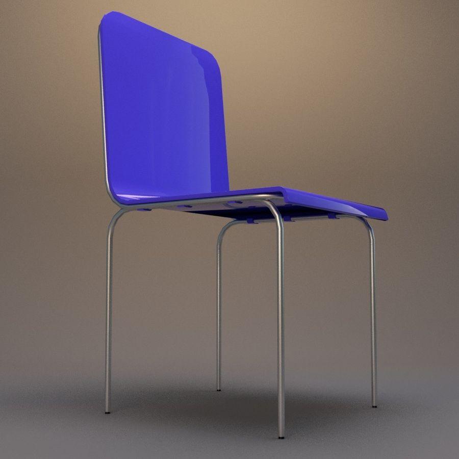 椅子2 royalty-free 3d model - Preview no. 5
