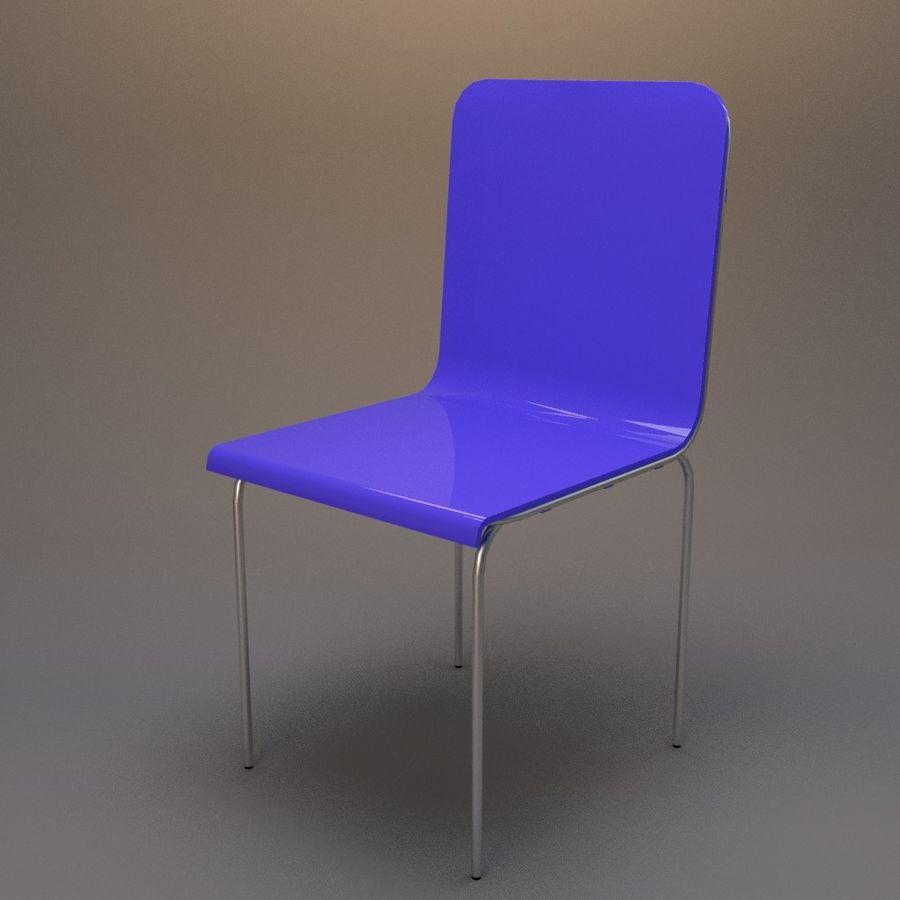 椅子2 royalty-free 3d model - Preview no. 2