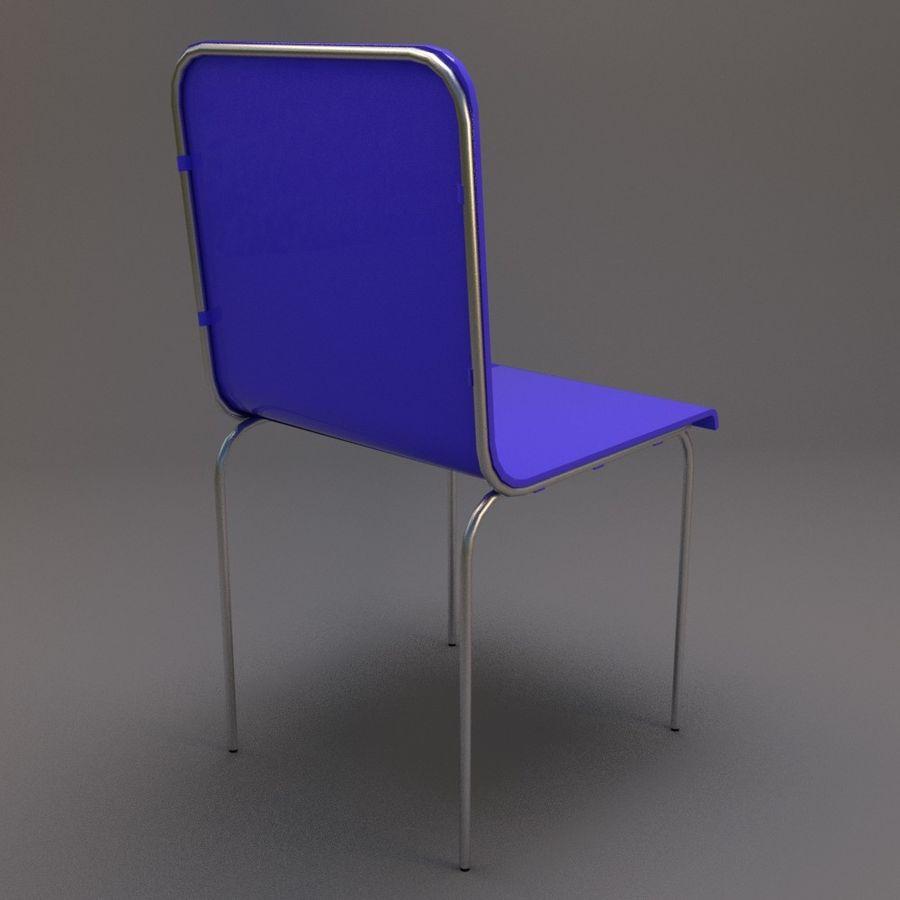 椅子2 royalty-free 3d model - Preview no. 6