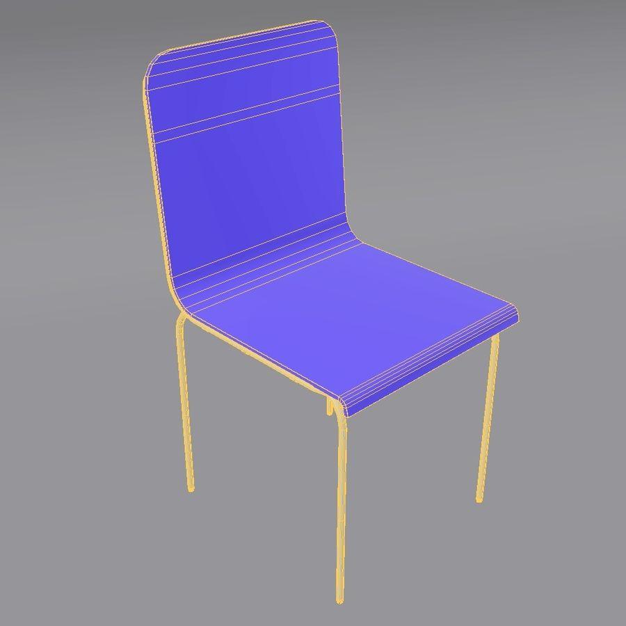 椅子2 royalty-free 3d model - Preview no. 11