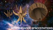 Heneturianer Spacestations 3d model