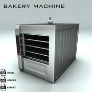 ベーカリーマシン4 3d model