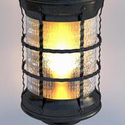 linterna de jardín modelo 3d