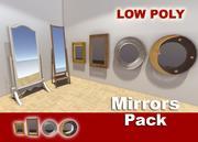 Зеркало Пакет 3d model