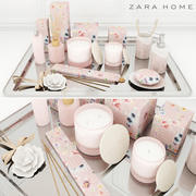 Zara Home Botanical Collection 3d model