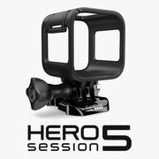 GoPro Hero 5 Oturum Kamera Muhafazası 3d model