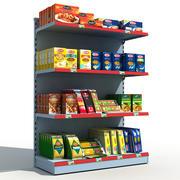 Prateleiras para supermercados 3d model