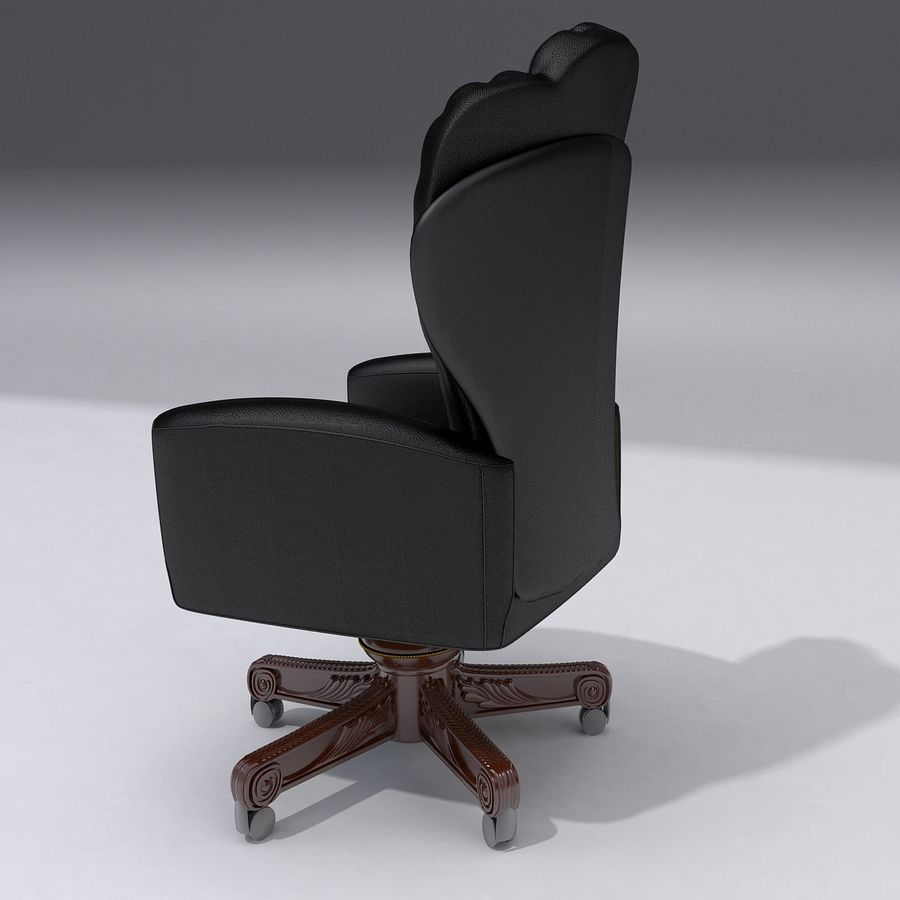 Boss Chair royalty-free 3d model - Preview no. 2