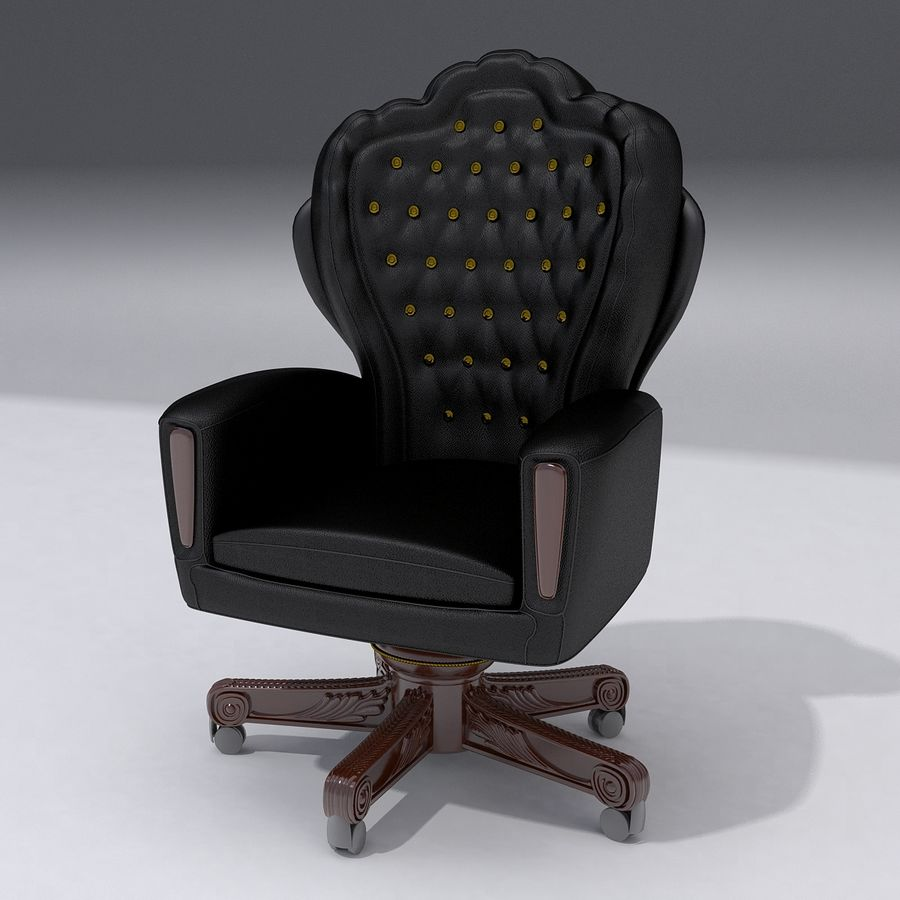 Boss Chair royalty-free 3d model - Preview no. 1