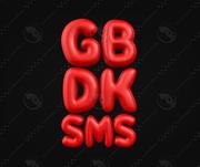 SMS GB DK 3d model