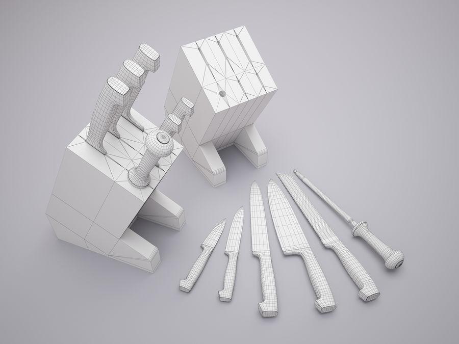 Steht für Messer royalty-free 3d model - Preview no. 7