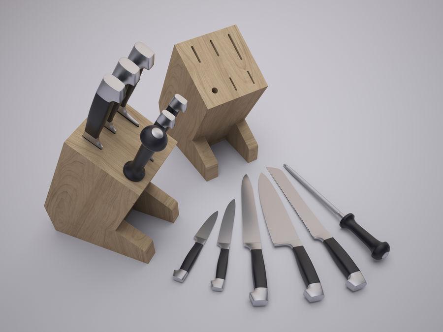 Steht für Messer royalty-free 3d model - Preview no. 1