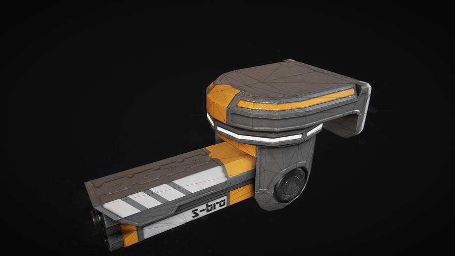 Surveillance camera S-bro royalty-free 3d model - Preview no. 3