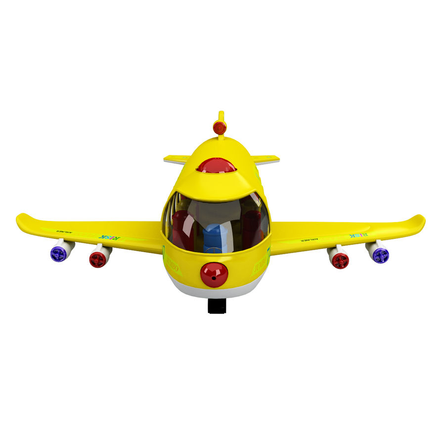 Toy Shiping Plane royalty-free 3d model - Preview no. 2