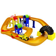 Piste de course de jouets 3d model