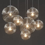 Raak - прозрачные стеклянные шарики 3d model