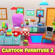 Cartoon meubels 2 3d model