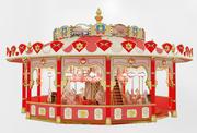 carrousel 3d model