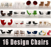 Design Chairs 3d model