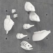 柏林鲱鱼装饰鱼 3d model
