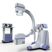 C-Arm X-Ray Machine 3d model