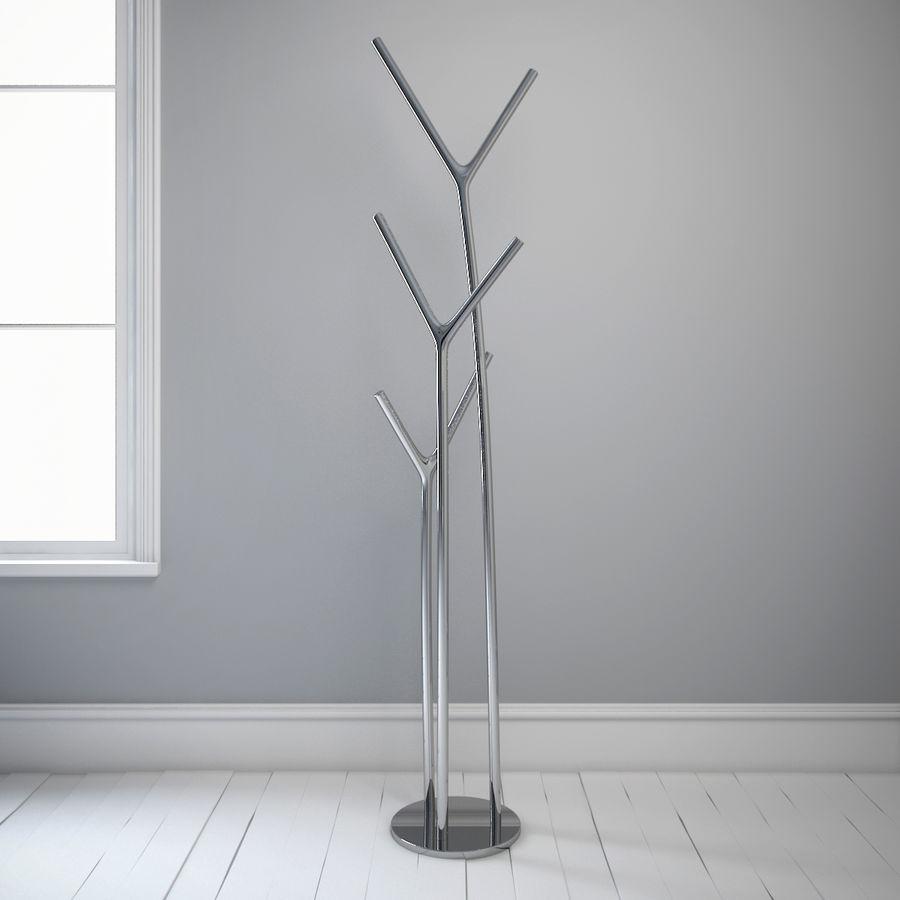 叉骨衣帽架 royalty-free 3d model - Preview no. 2