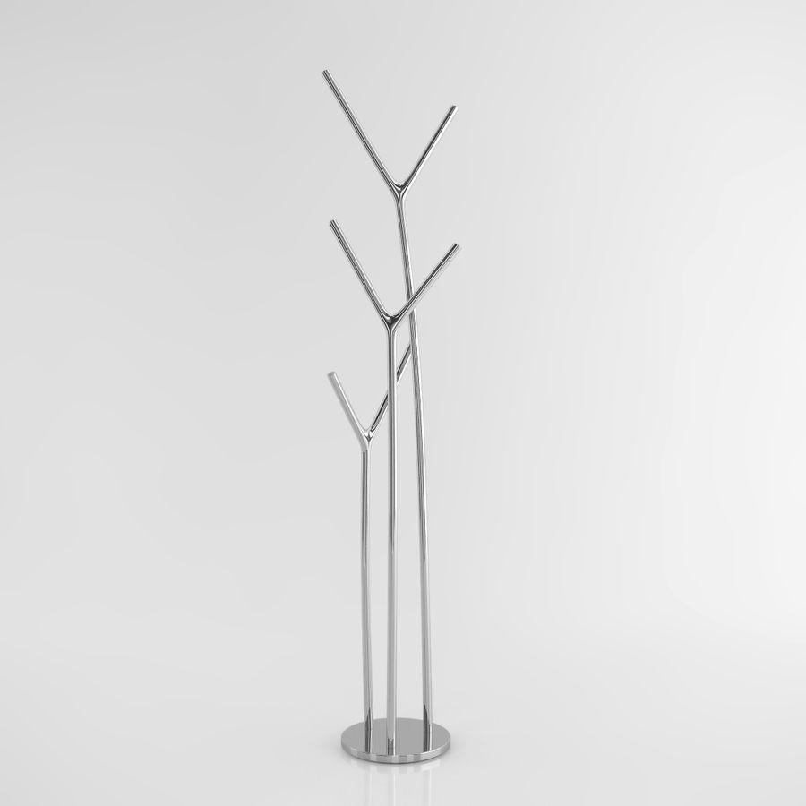 叉骨衣帽架 royalty-free 3d model - Preview no. 3