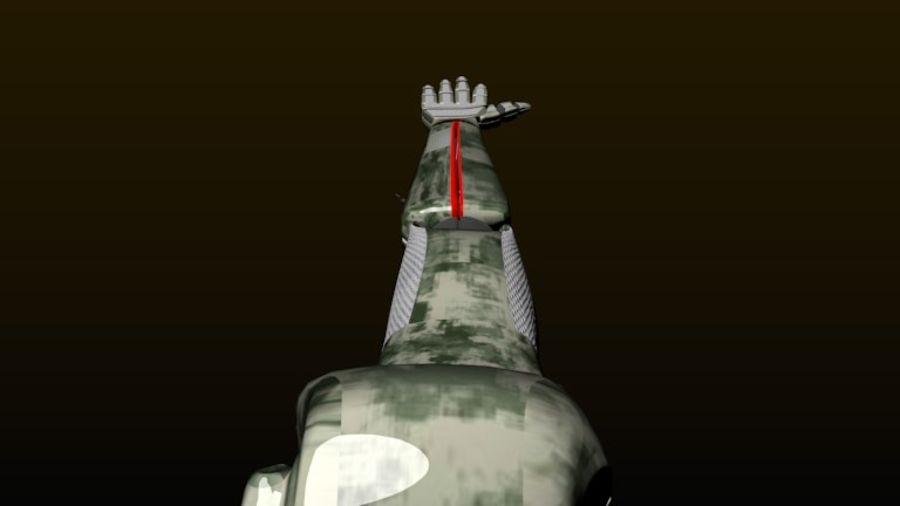 Dövüş robotu kolu royalty-free 3d model - Preview no. 6