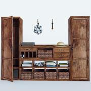 Oliva Modular Cabinet 3d model