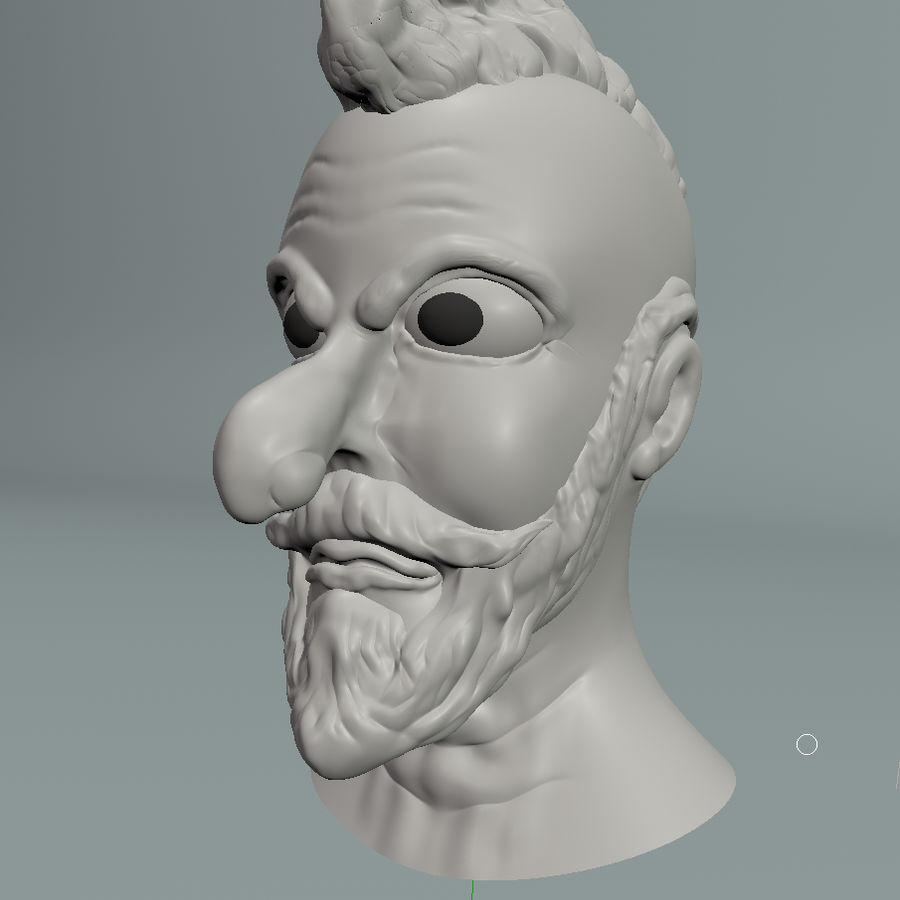 modélisation de personnages royalty-free 3d model - Preview no. 2