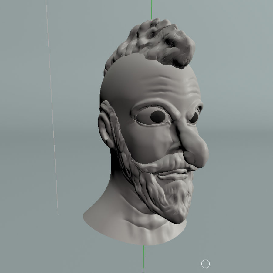 modélisation de personnages royalty-free 3d model - Preview no. 4