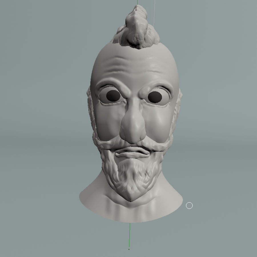modélisation de personnages royalty-free 3d model - Preview no. 1