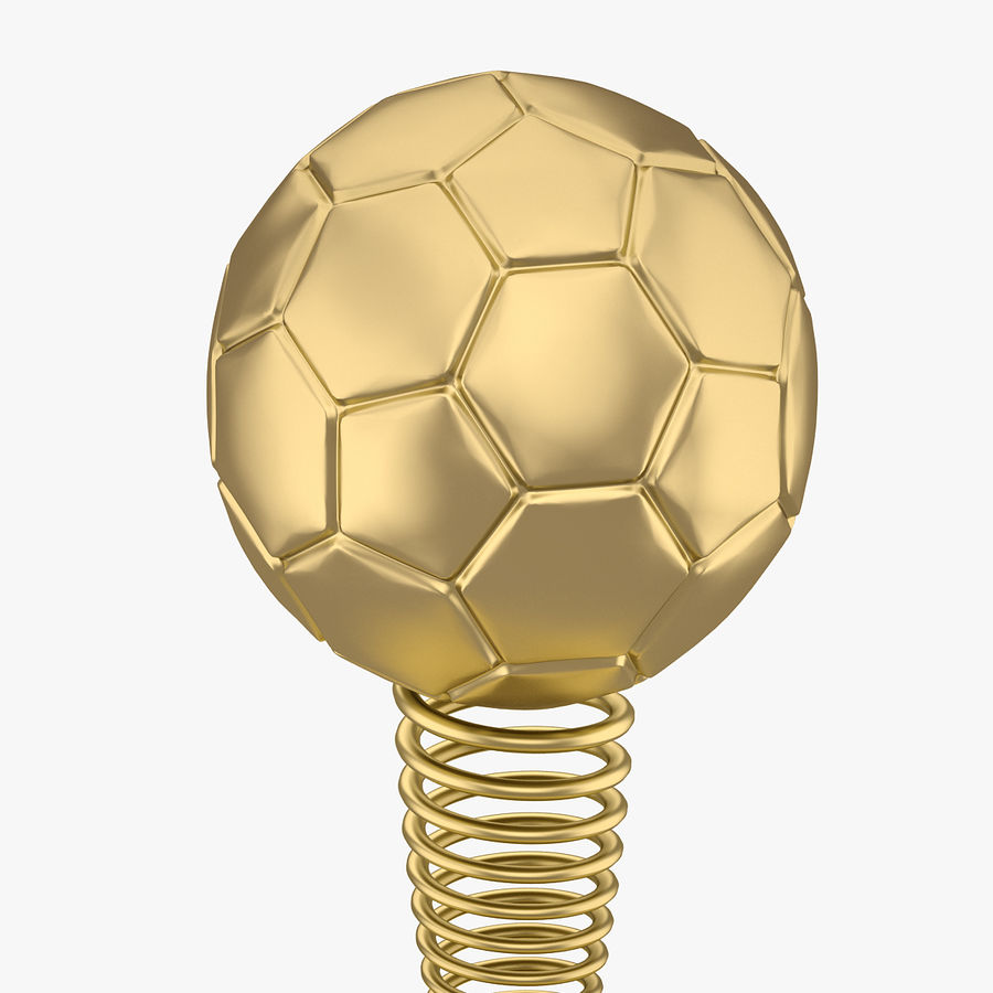 Football Award Cup 02 royalty-free 3d model - Preview no. 4