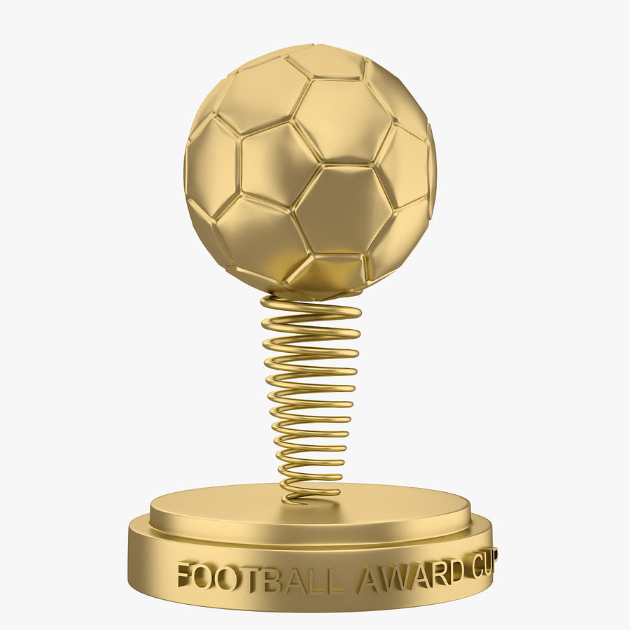 Football Award Cup 02 royalty-free 3d model - Preview no. 1