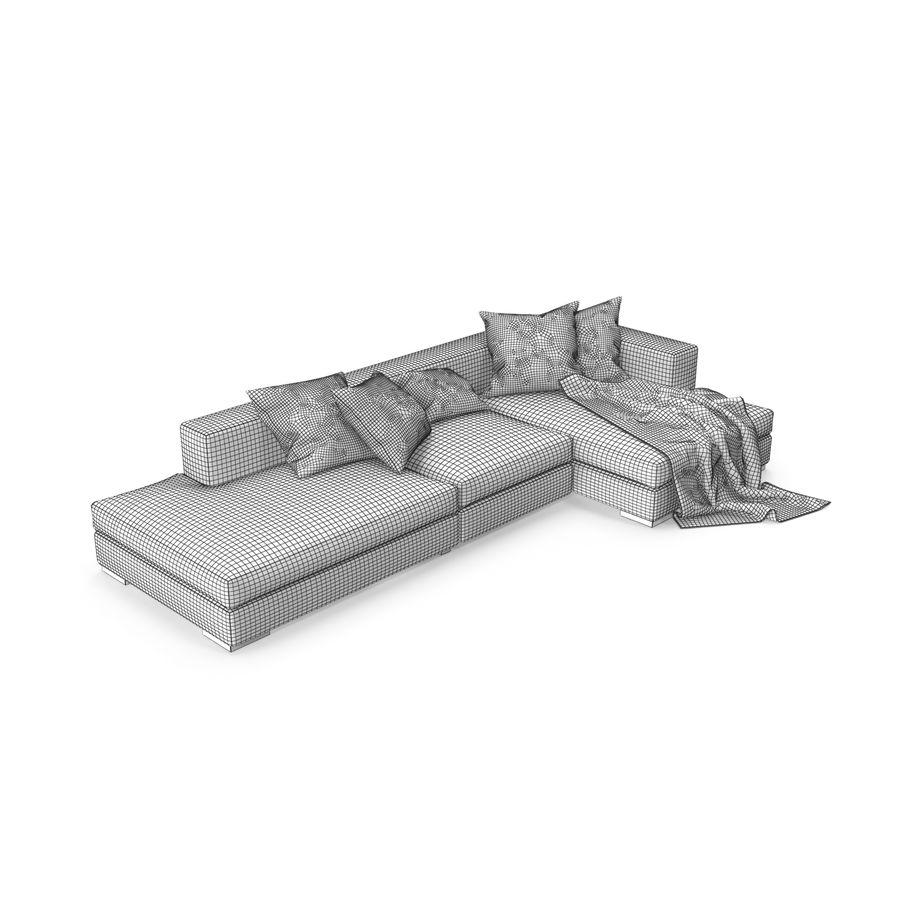 BoConcept Cenova royalty-free 3d model - Preview no. 10