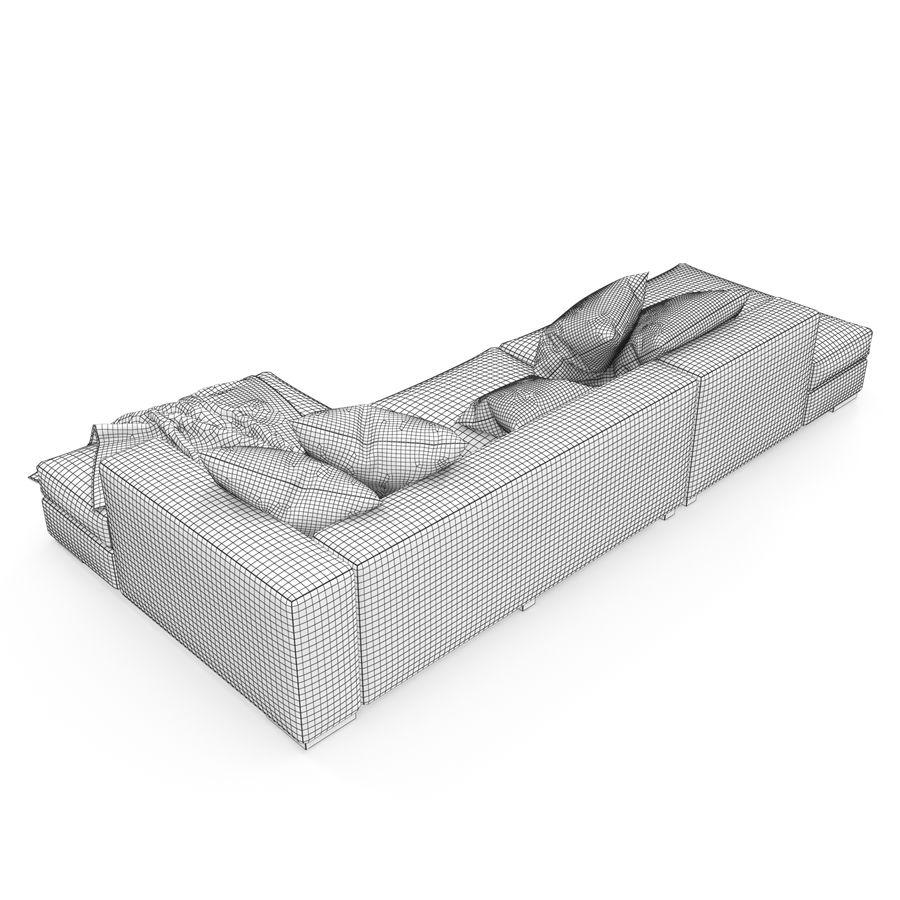 BoConcept Cenova royalty-free 3d model - Preview no. 11