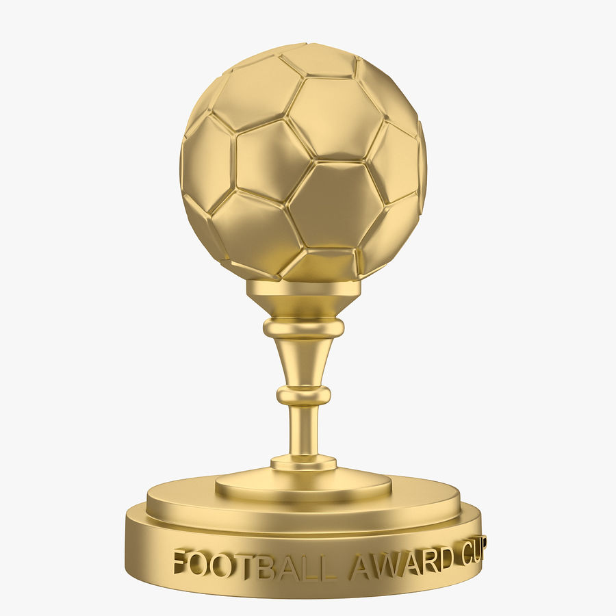 Football Award Cup 03 royalty-free 3d model - Preview no. 1