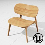 PLC Lounge UE4 3d model