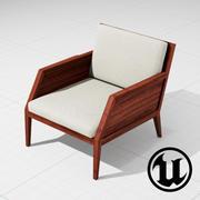 Raffa Chair UE4 3d model