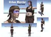 Guerreiro Urbano 3d model