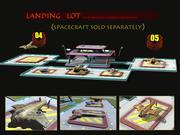 Landning Lot 3d model
