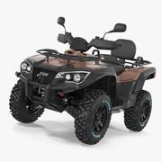 ATV Four Wheeler Bike 3d model