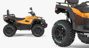 Quad Bike TGB 1000 2016 3d model