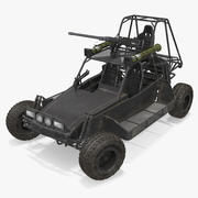 Desert Patrol Vehicle DPV opgetuigd 3d model